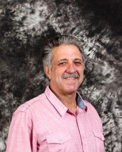Headshot portrait of Donald Johnson