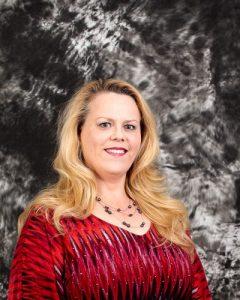 Headshot portrait of Kathy Mardis