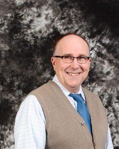 Headshot portrait of Pastor James Otte